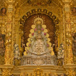 Virgin of El Rocio statue — Stock Photo