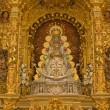 Stock Photo: Virgin of El Rocio statue