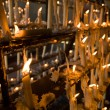Candles at Votive sanctuary — Stock Photo