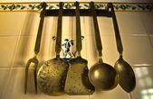 Old Kicthen utensils — Stock Photo