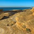 Eroded cliffs — Stock Photo
