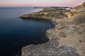 Praia da luz oblast pobřeží — Stock fotografie