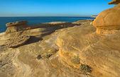 Eroded cliffs — Stockfoto