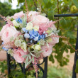 Pink wedding bouquet  — Stock Photo