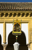 Santa Maria fountain device — Stock Photo