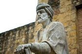 Staty av averroes i cordoba — Stockfoto