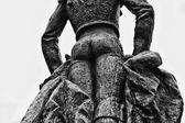 Estatua de Manolete volver — Foto de Stock