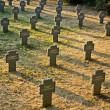 German Cemetery — Stock Photo
