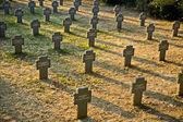 Cemitério alemão — Foto Stock