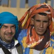 Stockfoto: Camel driver and mate