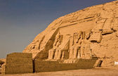 Abu Simbel right outside — Foto de Stock