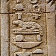 Stock Photo: Hieroglyphs of crocodile