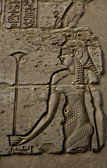 Egyptian woman engraved image — Stock Photo