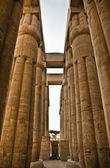 Luxor columns — Foto de Stock