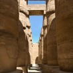 Ancient Egyptian Columns — Stock Photo