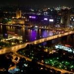 Постер, плакат: Nile river at night