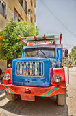 Colored truck — Stock Photo