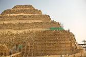 Saqqara iskeleler — Stok fotoğraf
