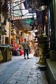 Street of Khan El Khalili — Stock Photo