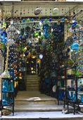 Khan el-Khalili glass shop — Stock Photo