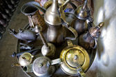 Iron pottery tray — Stock Photo