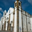 Stock Photo: Church of NossSenhorde Lagoa