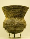 Bell-Beaker culture pot — Stock Photo