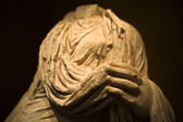 Roman toga sculpture — Stock Photo