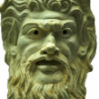 Detail of Mask of the God Pan — Stock Photo
