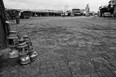 Djemaa early in the morning — Foto Stock