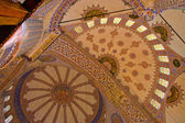 Blue Mosque ceiling — Stock Photo