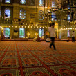 Indoors of Yeni Valide Camii — Stock Photo #40423555