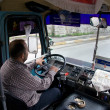 Turkish bus driver — Stock Photo