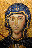 Mary mosaic detail — Stock Photo