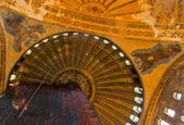 Hagia Sophia Interior dome — Stock Photo