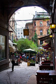 Istiklal arch — Stock Photo