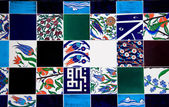 Turkish tiles — Stock Photo