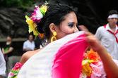 Latin folk dances — Stock Photo