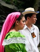 Young latin couple — Stock Photo