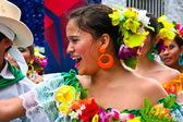 Latin dancer girl — Stock Photo