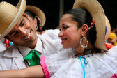 Native latin dances — Stock Photo