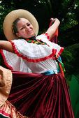 Smiling latin girl — Stock Photo