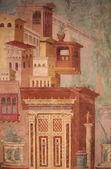 Roman Fresco — Stock Photo