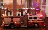 NY firetruck — Stock Photo