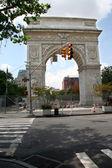 Washington Square Park Arch — Stock Photo