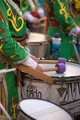 Bass drummer — Stock Photo
