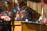African xylophones — Stock Photo