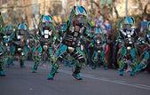 Carnival of Aliens — Stock Photo