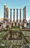 Ruin of the Roman temple — Stock Photo