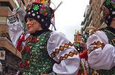 Russian dance — Stock Photo